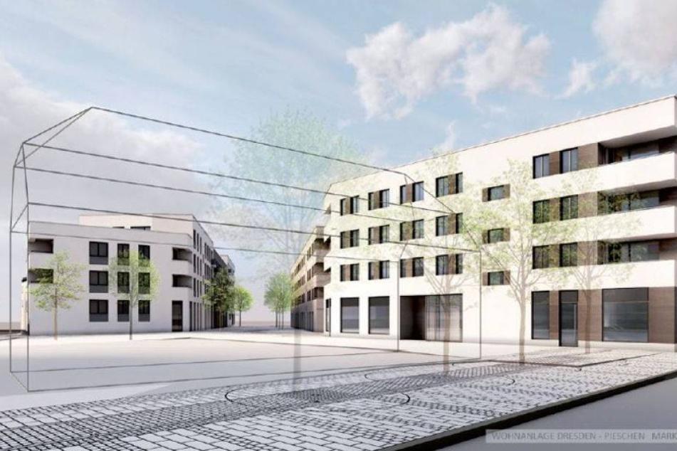 Pieschen bekommt neue Straße und 114 Wohnungen