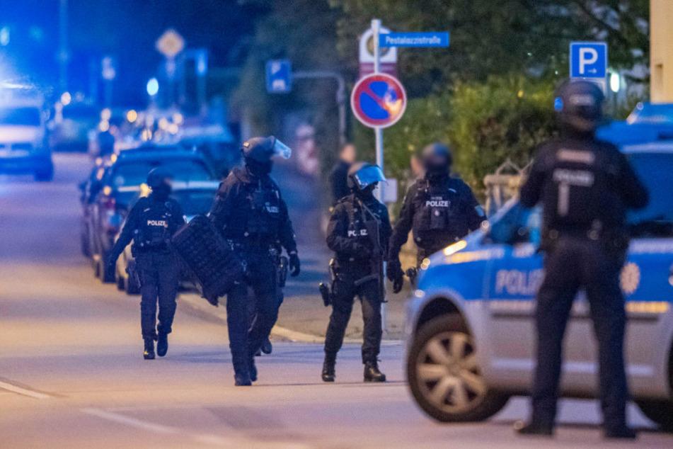 Erfurt: Streit löst größeren Polizeieinsatz aus