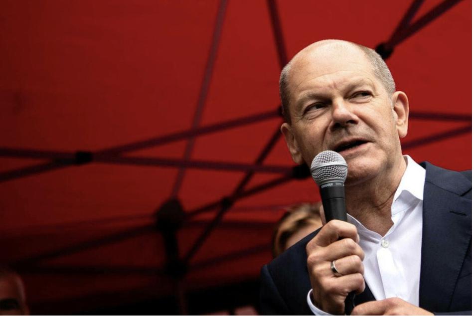 Kanzlerkandidat Olaf Scholz (63, SPD) steht bei den sächsischen Wählern hoch im Kurs.