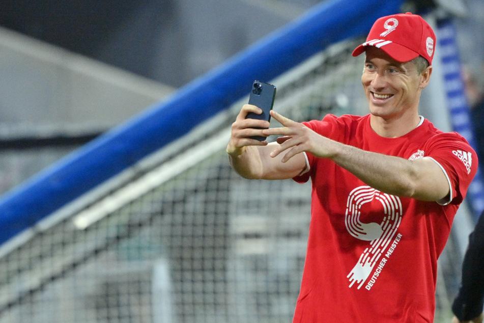 Robert Lewandowski ist dem Tore-Rekord von Gerd Müller ganz nah.