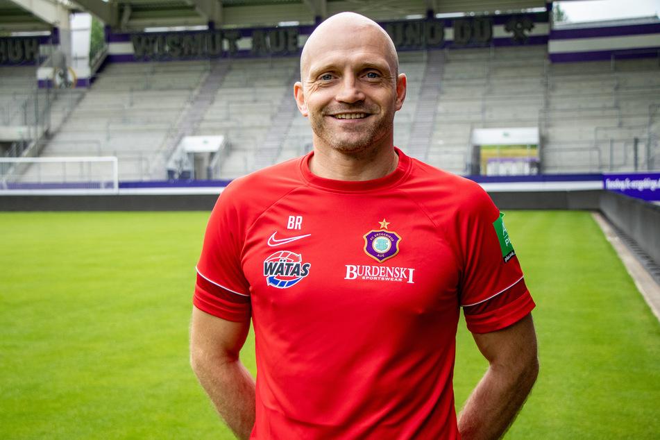 Björn Rosemeier (39) ist neuer Athletiktrainer beim FC Erzgebirge Aue.