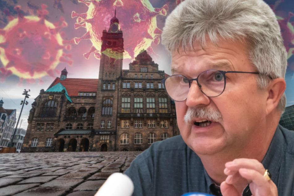 Dr. Harald Uerlings, Leiter des Chemnitzer Gesundheitsamtes, fordert die Chemnitzer auf, die Hygieneregeln einzuhalten.