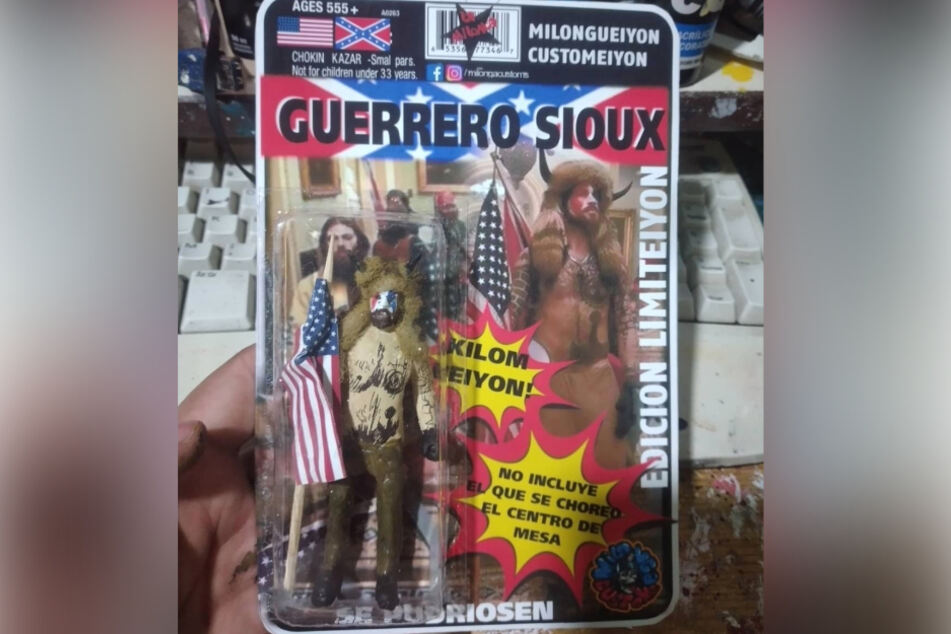 "The limited edition action figure ""does not include the centerpiece."""