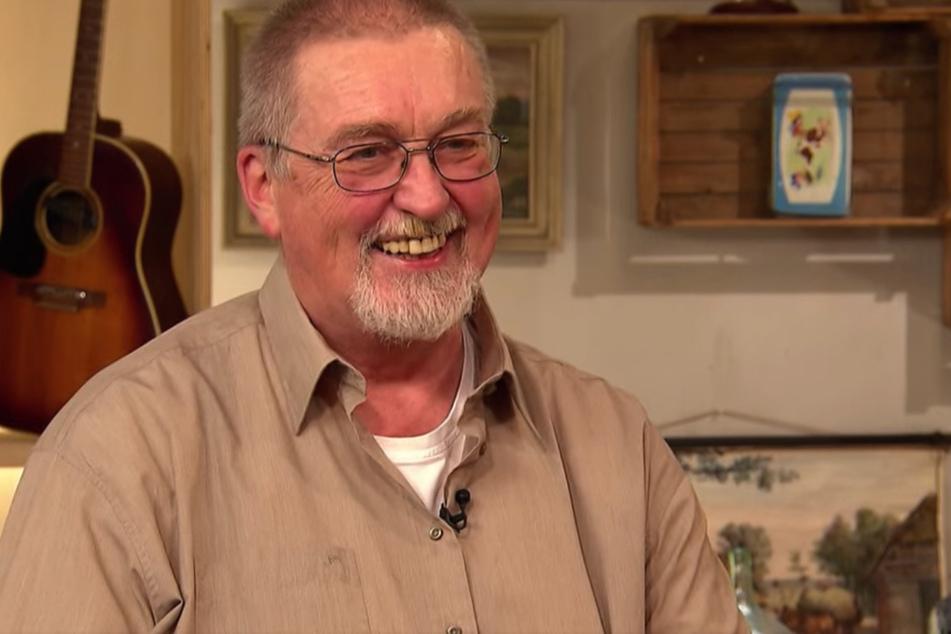 Rainer Fetting (61) erhofft sich für seinen kuriosen Besitz ein kleines Taschengeld.