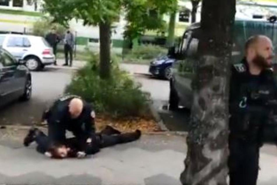 Polizeigewalt in Berlin? Pikantes Video schlägt hohe Wellen