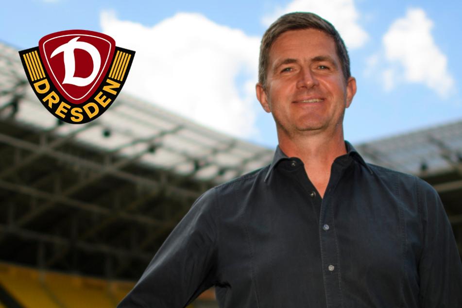 """Neuer Sportchef Becker ist da! """"Dynamo ist große Nummer"""""""