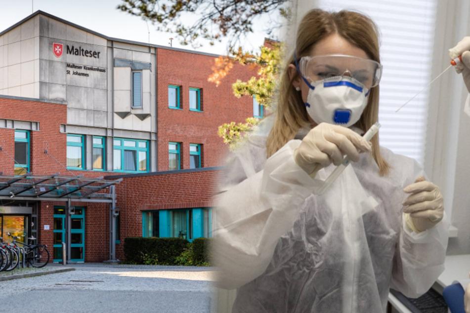 Corona-Ausfälle in sächsischen Krankenhäusern: Erster Kreis meldet Personal-Notstand