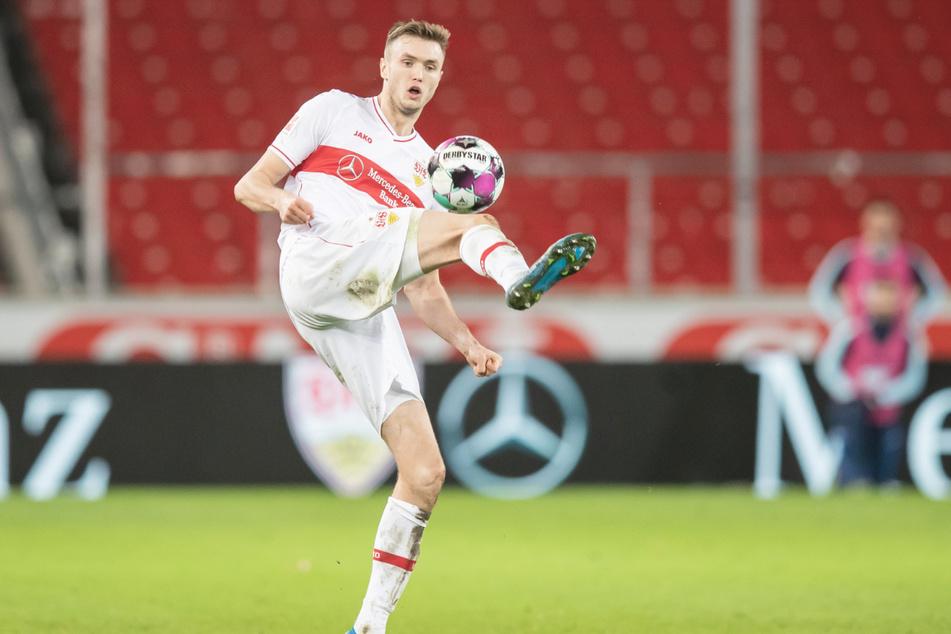 Stuttgarts Sasa Kalajdzic (23) möchte gerne weiter beim VfB Stuttgart bleiben.