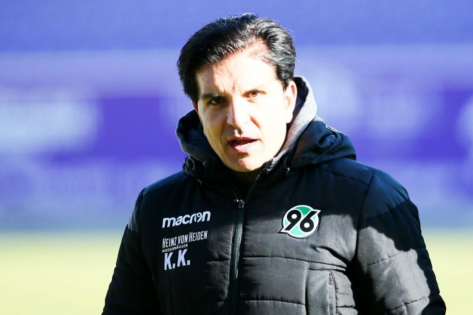 Kenan Kocak (40) ist ab Sommer nicht mehr Trainer von Hannover 96.