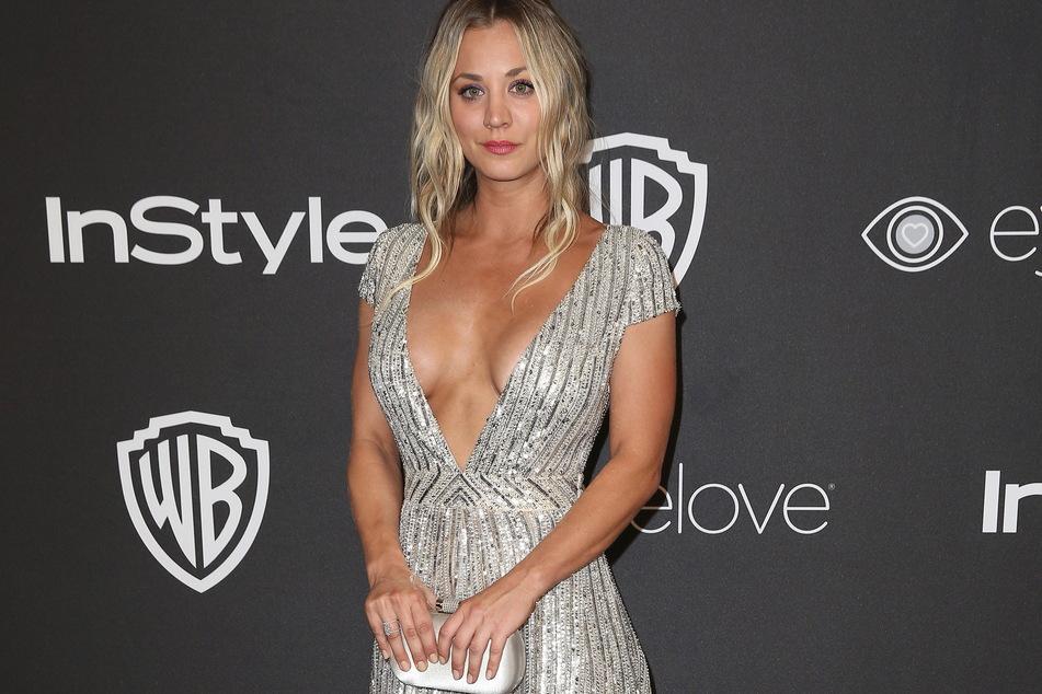Schauspielerin Kaley Cuoco (35) zeigte sich entsetzt über die Szenen beim modernen Fünfkampf.