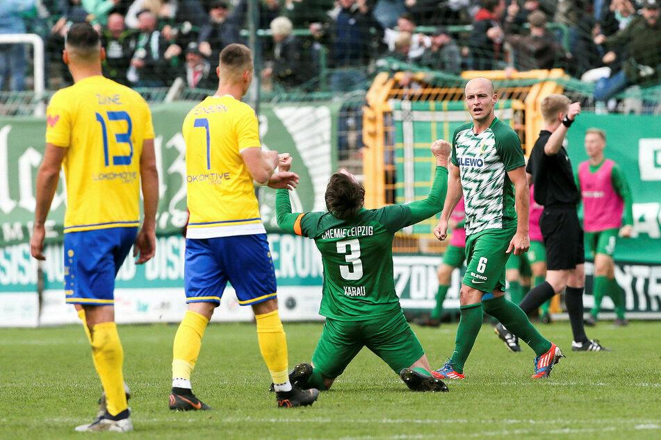 Das letzte Aufeinandertreffen zwischen Chemie und Lok gewann die BSG am 20. Oktober 2019 mit 2:0. Es war Loks einzige Niederlage in der gesamten Saison. (Archivbild)