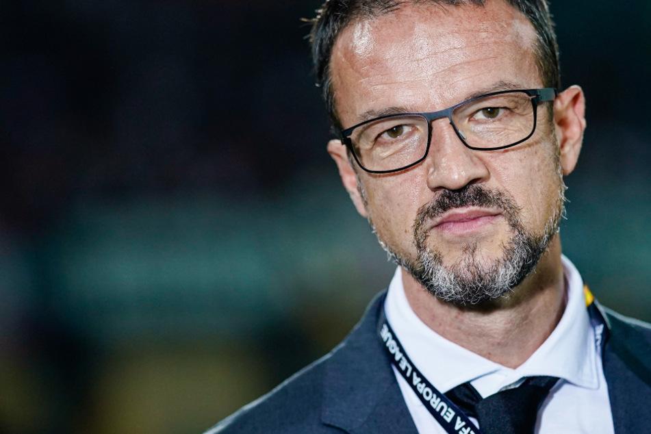 Das Foto aus dem Oktober 2019 zeigt Fredi Bobic, den Sportvorstand von Eintracht Frankfurt.