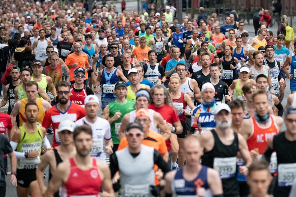 Knapp 14.000 Läufer sind beim Frankfurt Marathon 2019 angetreten. (Archivbild)