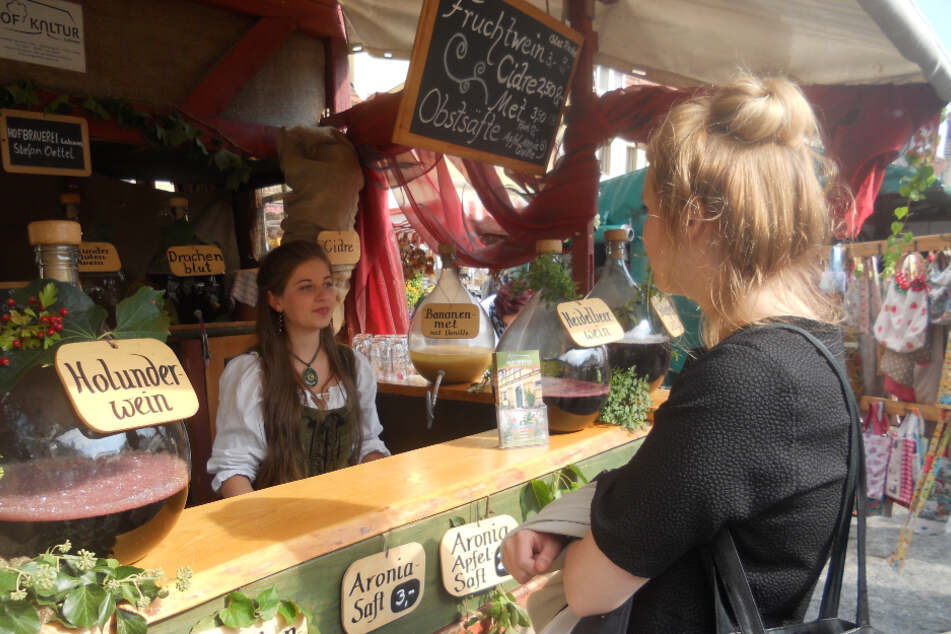 Der Herbstmarkt in Stolpen lädt ein.