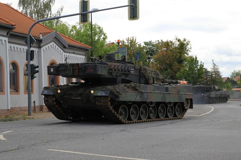 Die Bundeswehr verlegt ihre Panzer von Bad Frankenhausen nach Ohrdruf.