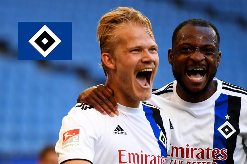 HSV defensiv pfui, offensiv hui! Hamburg mit Zitter-Sieg gegen Wiesbaden