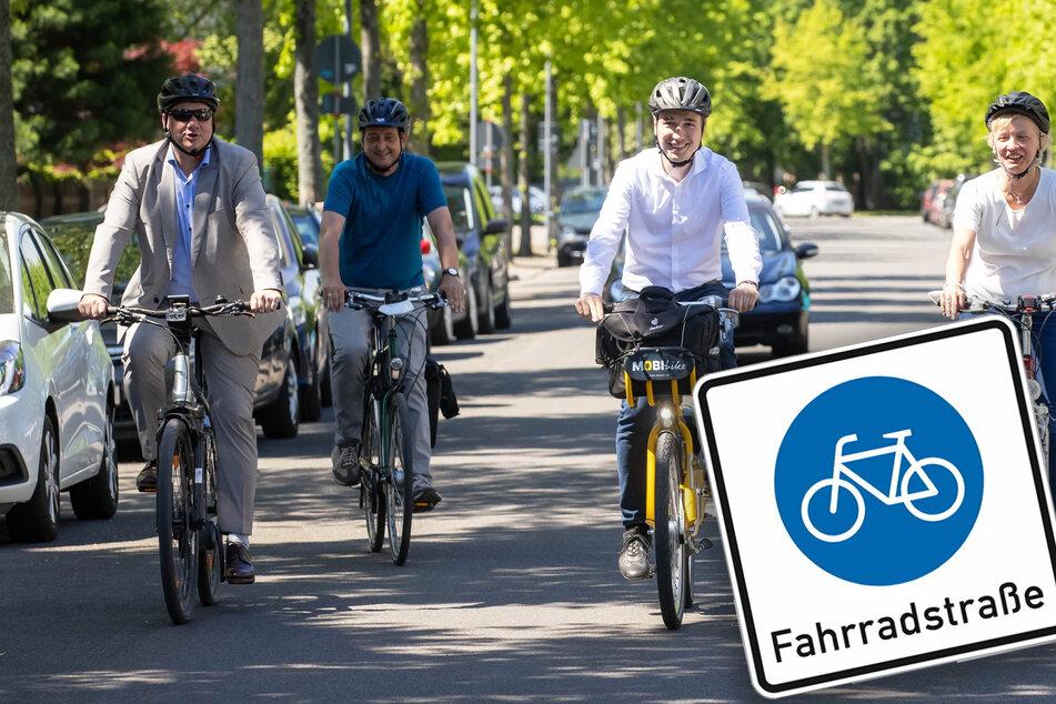 Dresden bekommt Fahrradstraße: Hier haben Autofahrer künftig das Nachsehen!