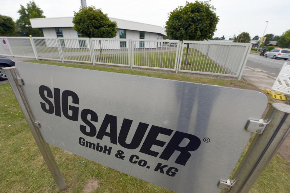 Der Standort von Sig Sauer in Eckernförde soll zum Jahresende schließen. (Archivbild)