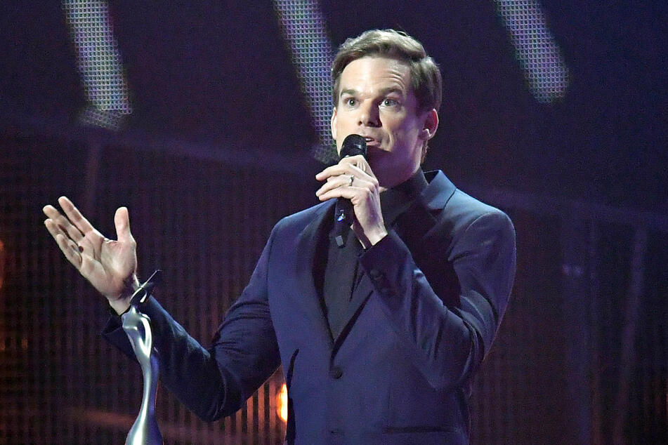 Michael C. Hall (49, Dexter) hier bei der Verleihung der Brit Awards.