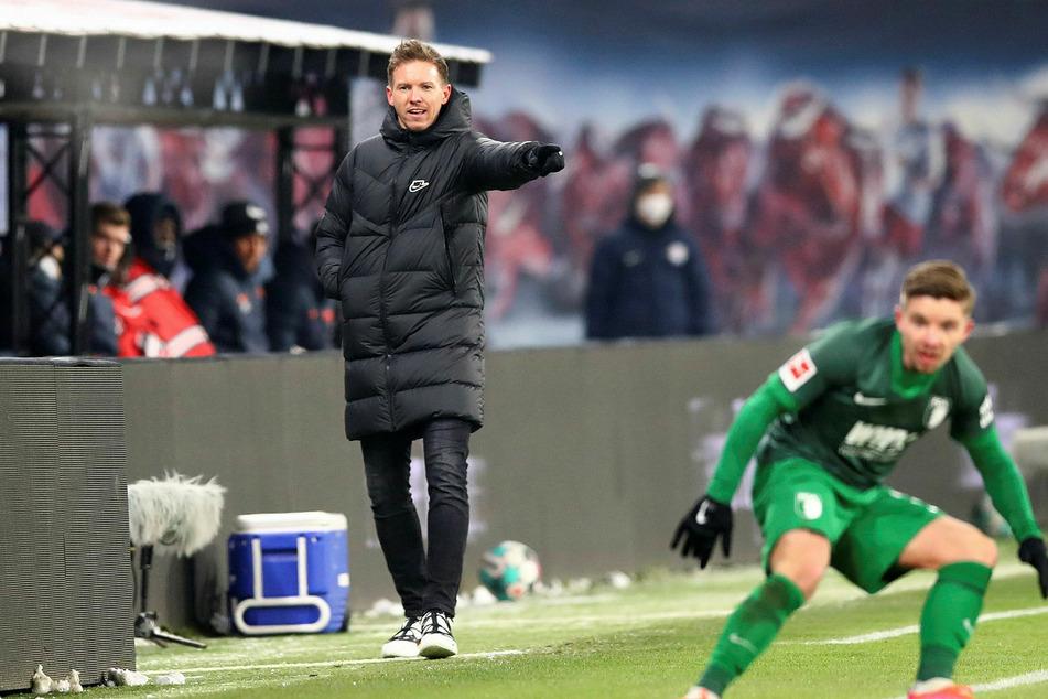Julian Nagelsmann (33) war mit dem Auftritt seiner Mannschaft - zumindest bis zur 75. Minute - zufrieden.