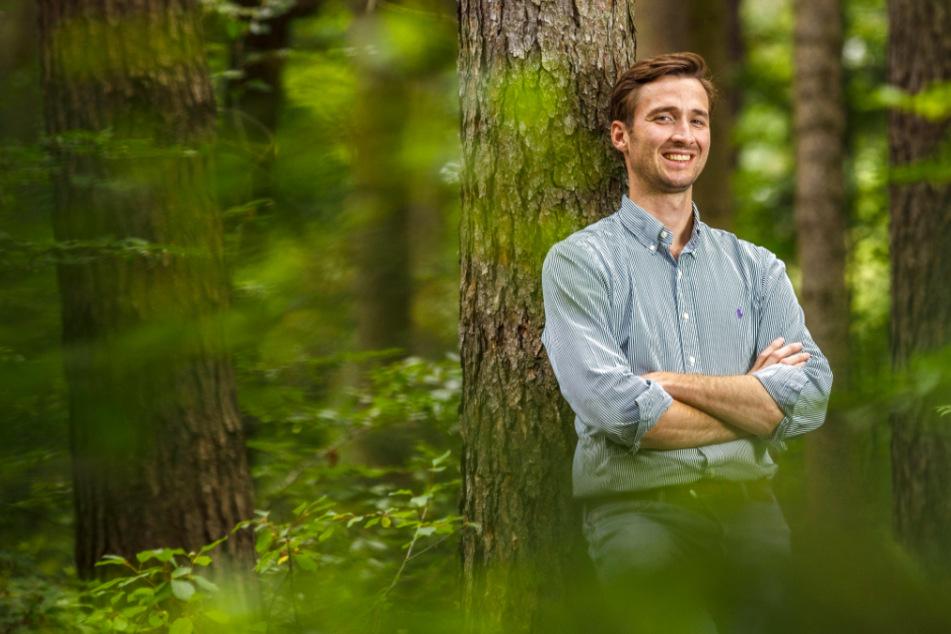 Er ist erst 31 und träumt von der letzten Ruhe: Unternehmer plant Friedhof in seinem Wald