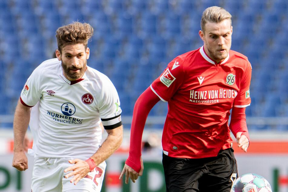 Marvin Ducksch (27, rechts) war in der abgelaufenen Saison Hannovers bester Torschütze.