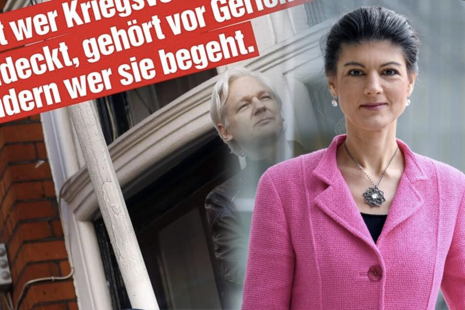 """""""Julian Assange ist kein Verbrecher!"""" Wagenknecht fordert Asyl für ihn in Deutschland"""