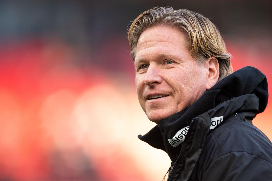 Kölns Trainer Markus Gisdol (50) hat bis 2023 beim 1. FC Köln verlängert.