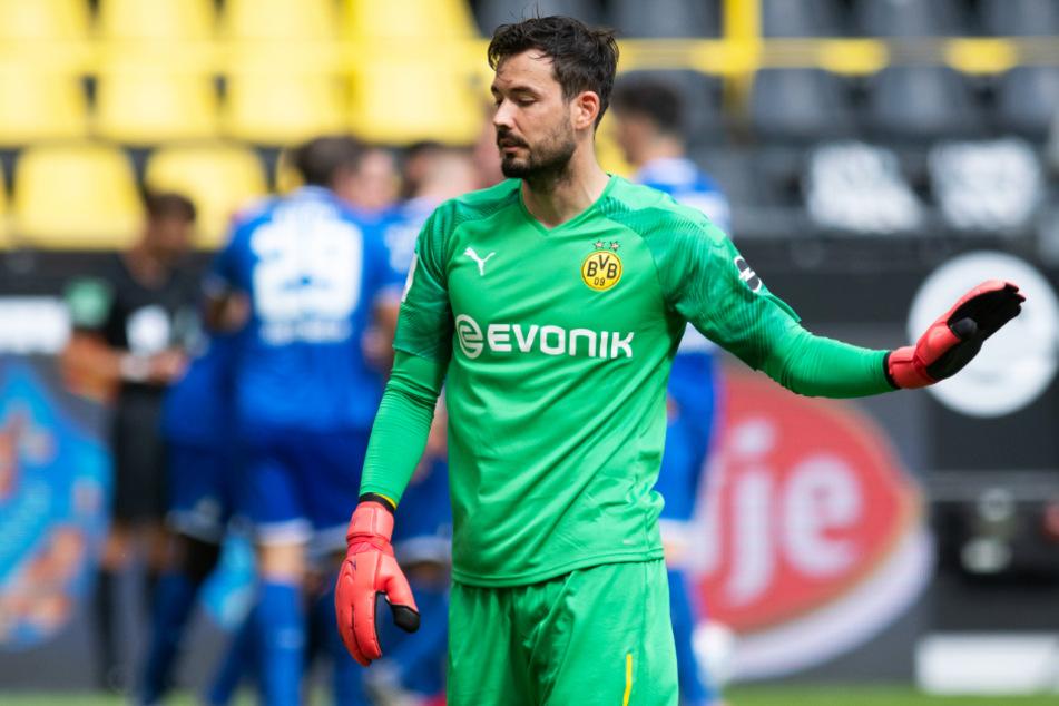BVB-Keeper Roman Bürki bemängelte die Einstellung seiner Mannschaft.