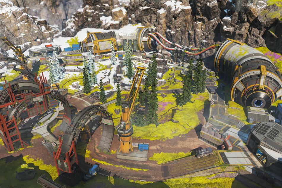 """Fünf neue Maps hat Respawn für den neuen Modus beigesteuert. Drei basieren auf bekannten Karten, zwei sind komplett neu. Alle fünf fallen kleiner aus, um auch dadurch das Tempo von """"Arena"""" zu erhöhen."""