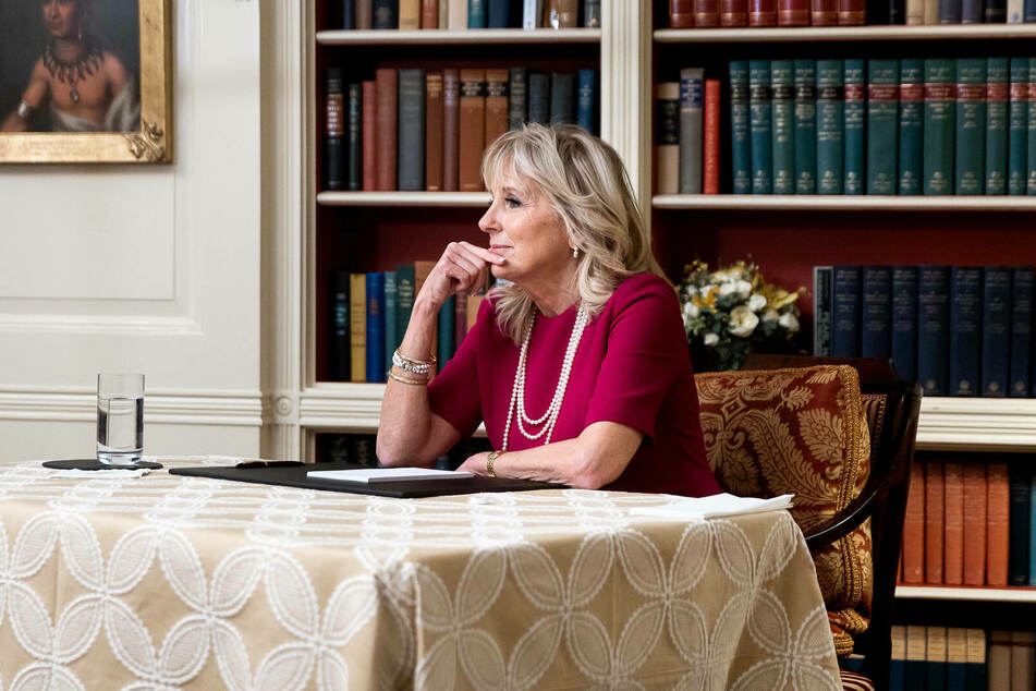 First Lady Dr. Jill Biden (69) still works full time as a community college educator.