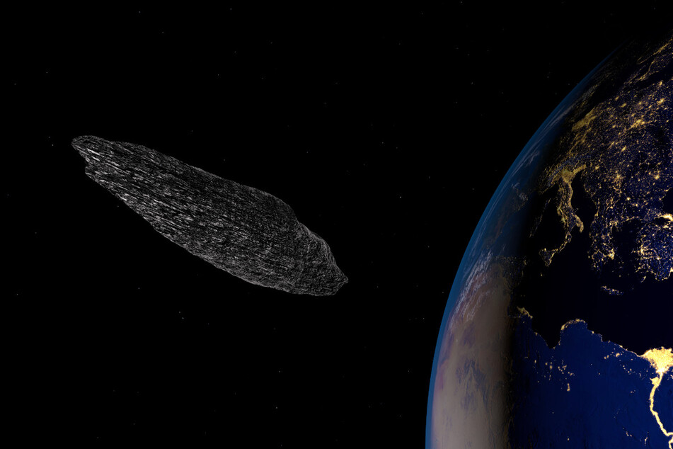 The flying object called Oumuamua was observable with telescopes for eleven days, but there are no high-resolution photos available (stock image).