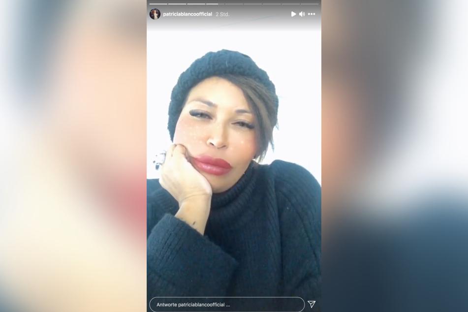 Schlecht gelaunt meldet sich Patricia Blanco (50) bei ihren Fans.