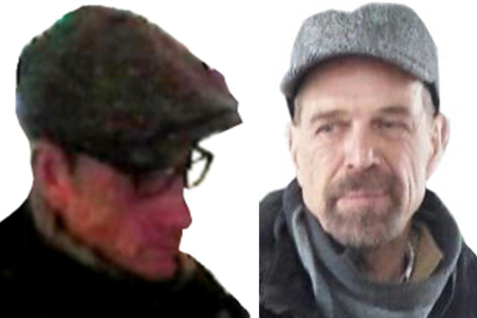 Laut LKW sollen die zwei Bilder die gesuchten Terroristen Burkhard Garweg (links) und Ernst-Volker Staub zeigen.