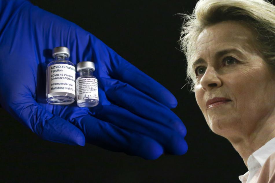 Her mit dem Impfstoff! Ursula von der Leyen äußert sich knallhart zu AstraZeneca