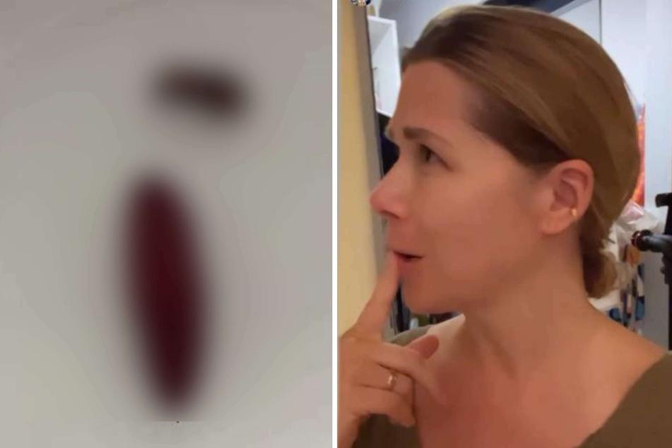 """Tanja Szewczenko macht merkwürdigen Fund im Schlafzimmer und ist ratlos: """"What the hell?!"""""""