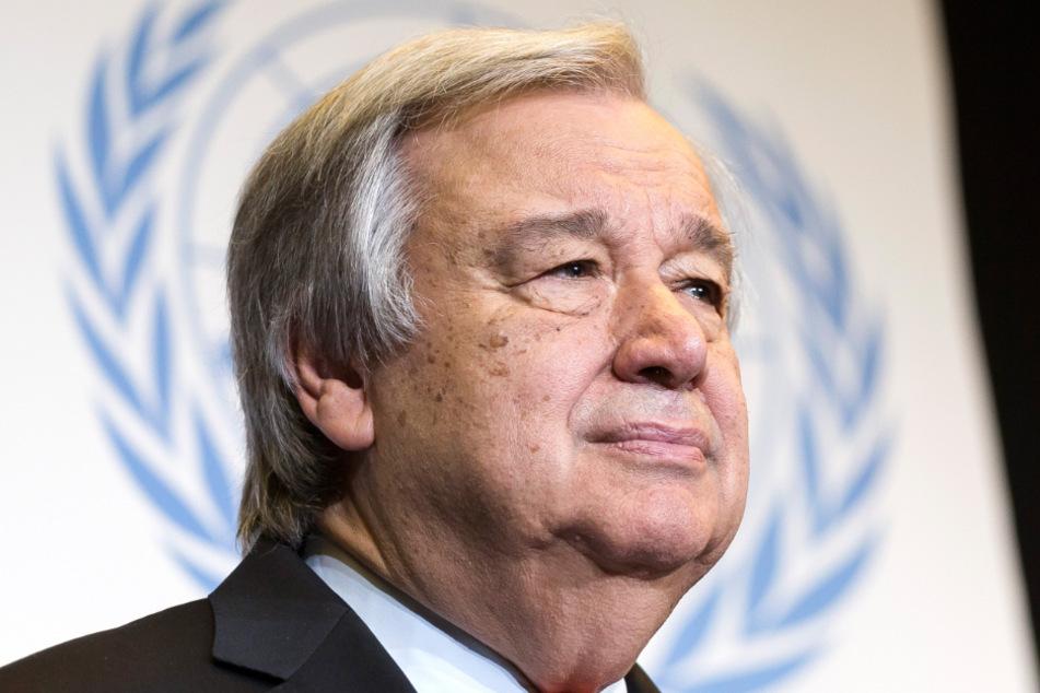 Antonio Guterres (70), Generalsekretär der Vereinten Nationen.