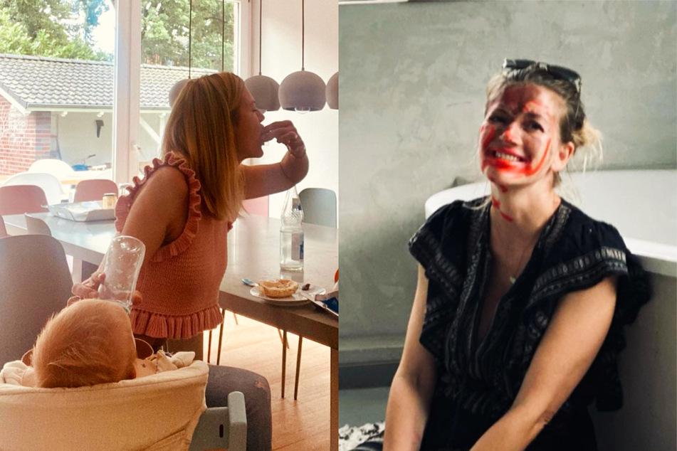 """Vierfach-Mama Nina Bott zeigt turbulenten Alltag: """"Brauche einen neuen Plan"""""""