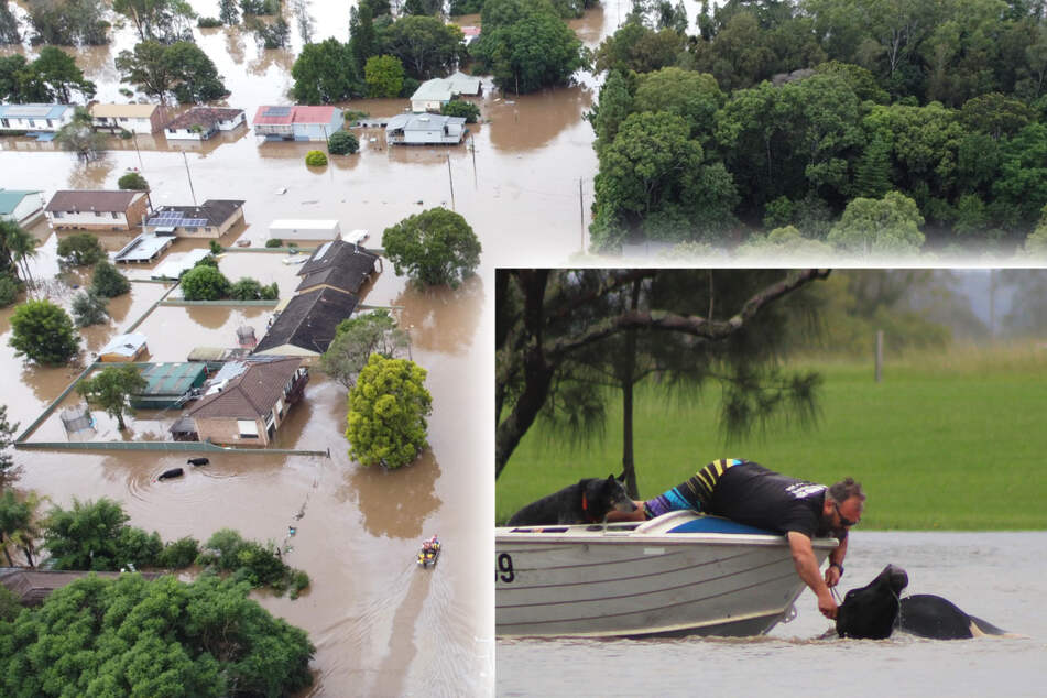 Heftige Regenfälle sorgen für extremes Hochwasser: Schon zwei Tote