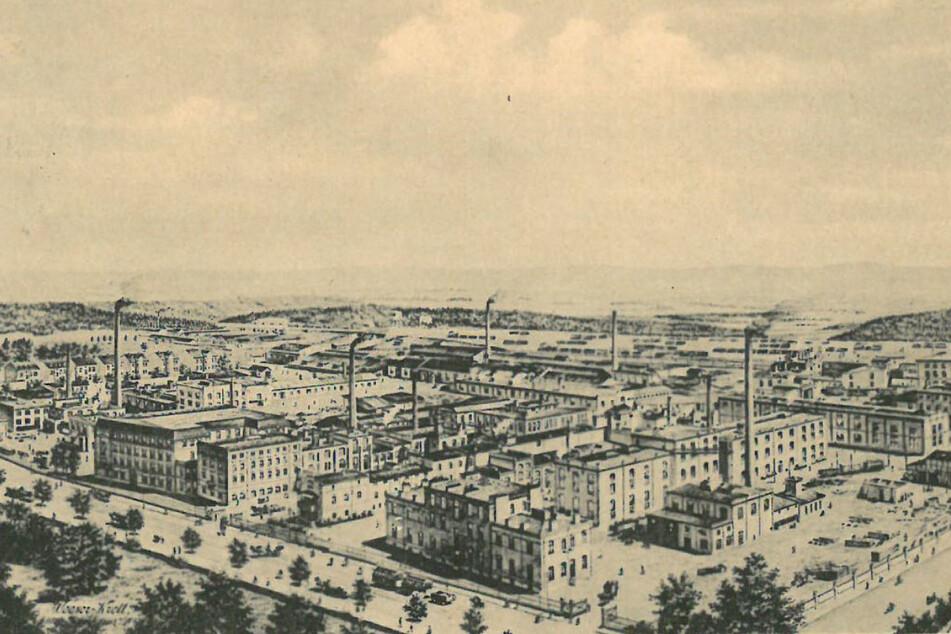 Die Chemische Fabrik von Heyden im Jahr 1899.