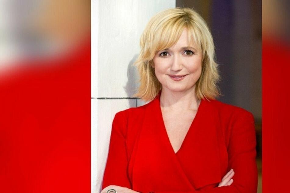 """Anja Koebel (53) moderiert in der kommenden Woche """"MDR um 4""""."""