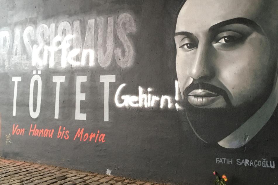 Frankfurt: Blutnacht von Hanau: Graffiti für Opfer in Frankfurt geschändet