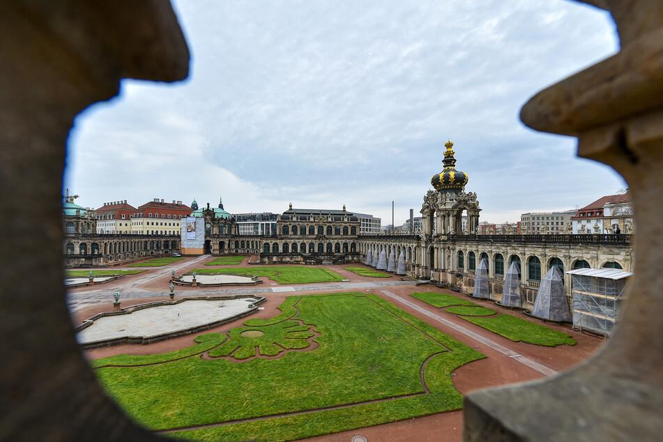 Die Staatlichen Kunstsammlungen im Dresdner Zwinger freuen sich über den Sensations-Fund.