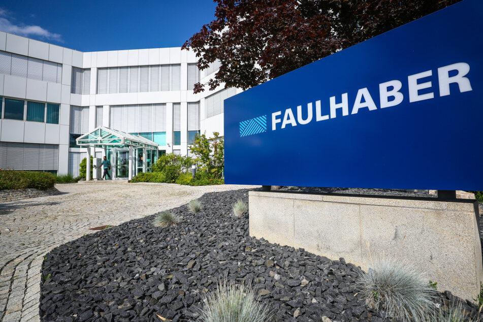 Schönaich: Blick auf die Firmenzentrale der Firma Faulhaber.