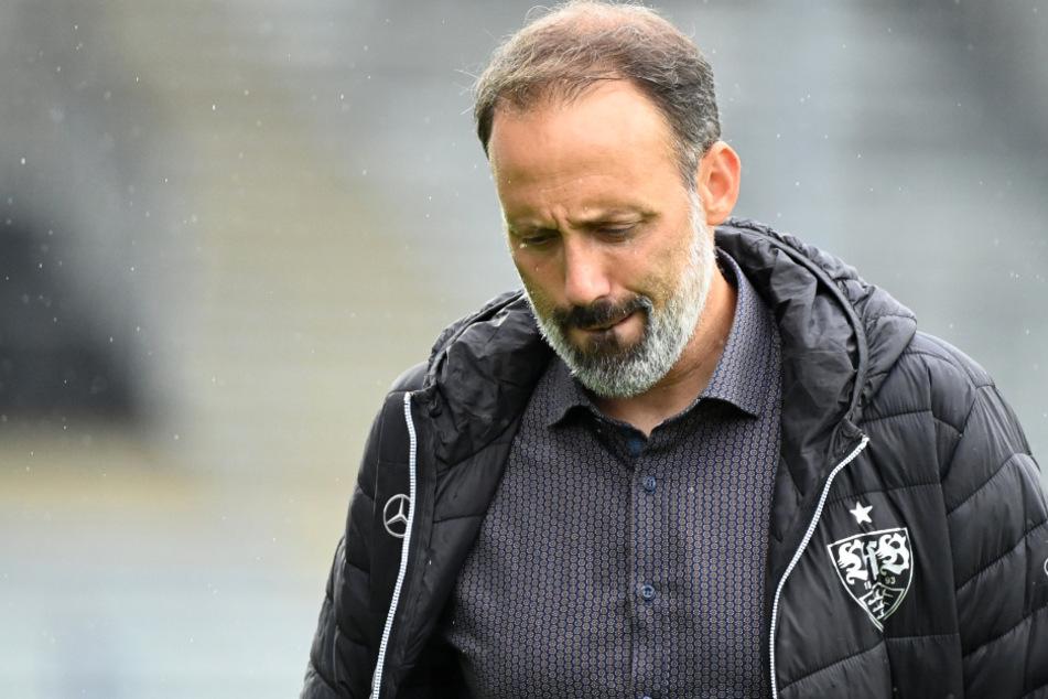 Wirkt ratlos: VfB-Coach Pellegrino Matarazzo (42).
