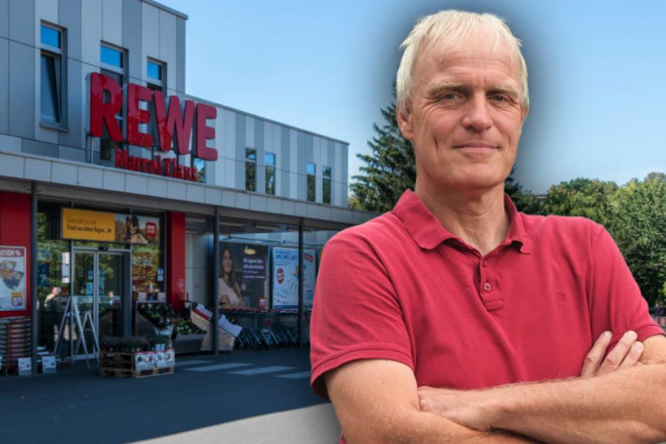 Rewe am Kaßberg will wachsen: Grüne kritisieren Umbau-Pläne