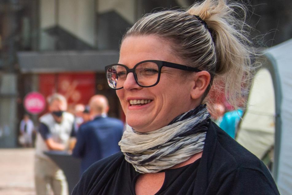 Susanne Schaper (42, Linke).