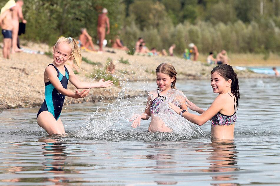 Ab ins Wasser! Für Badeseen gibt es - abgesehen von den Abstands- und Hygieneregeln - bisher keine Auflagen.