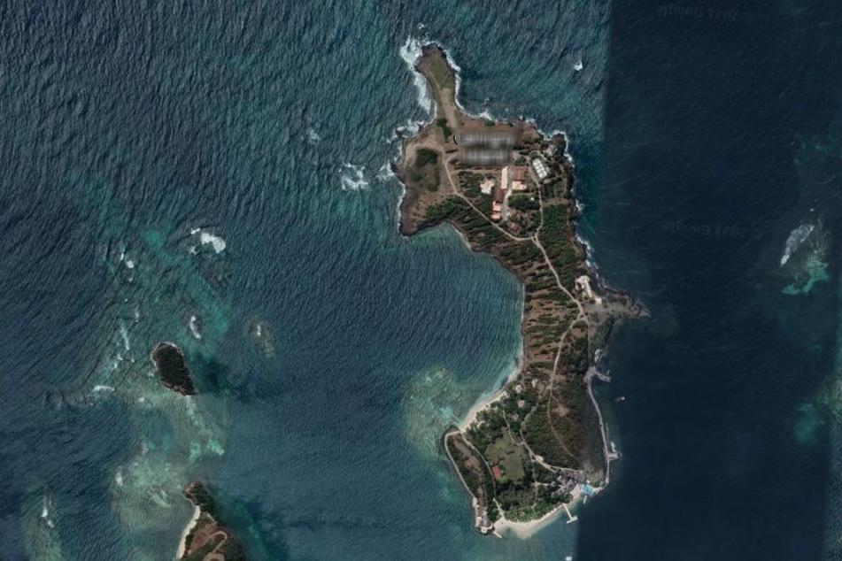 So sieht die Insel aus, auf der Melinda Gates ihren Liebeskummer auskurieren will.