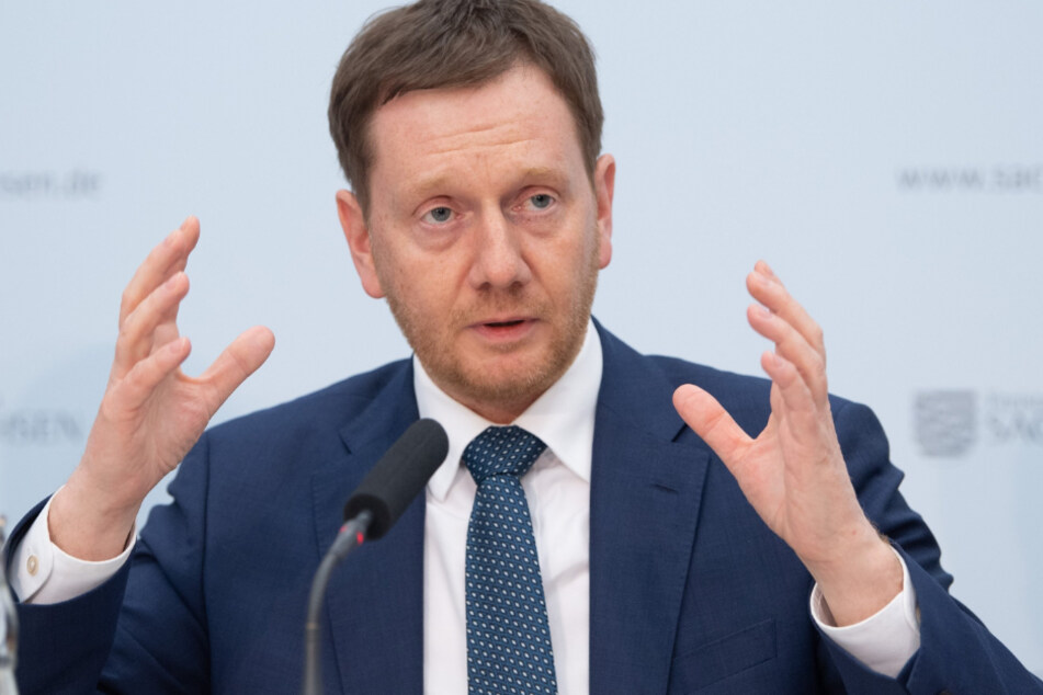 Ministerpräsident Michael Kretschmer (44, CDU)
